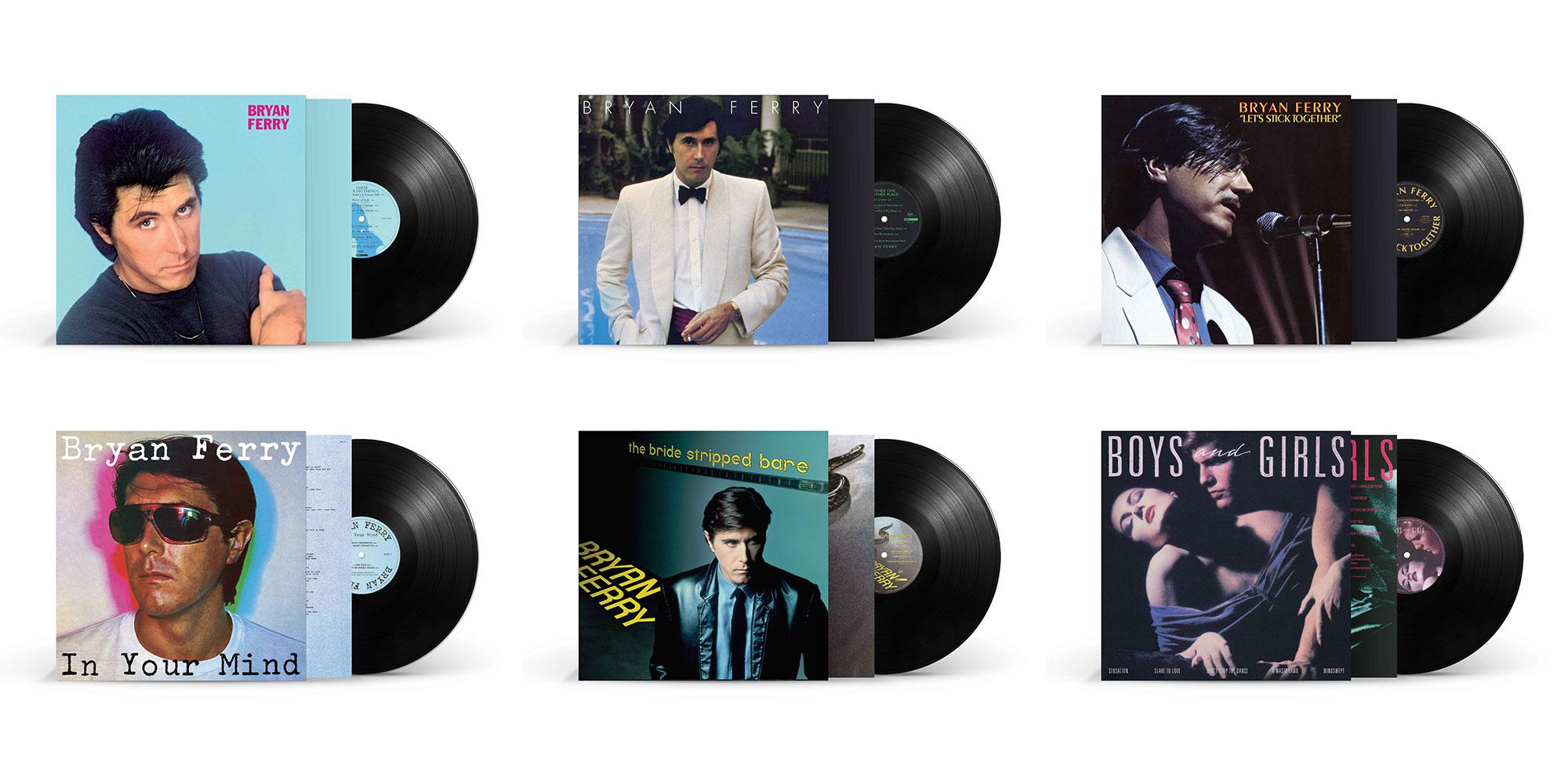 First 6 Bryan Ferry albums Remastered on Vinyl